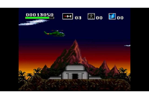 Choplifter III (SNES) Gameplay - YouTube