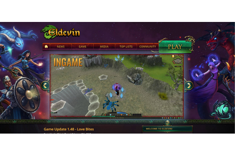 Eldevin - Browser based 3D fighting MMORPG