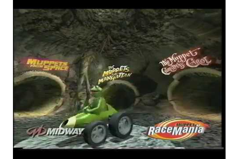 Muppet Race Mania playstation game trailer (short version ...