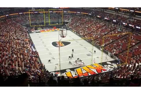 LA Kiss Arena Football Game - 1 Drive - Defensive TD - YouTube