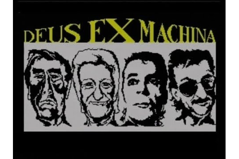 DEUS EX MACHINA (ZX SPECTRUM - FULL GAME) - YouTube