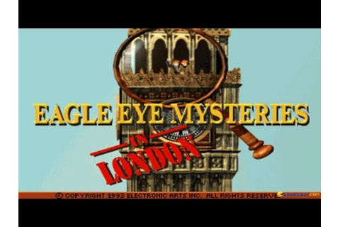 Eagle Eye Mysteries in London gameplay (PC Game, 1994 ...