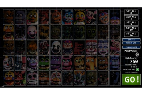 Ultimate Custom Night Will Keep Five Nights At Freddy's ...
