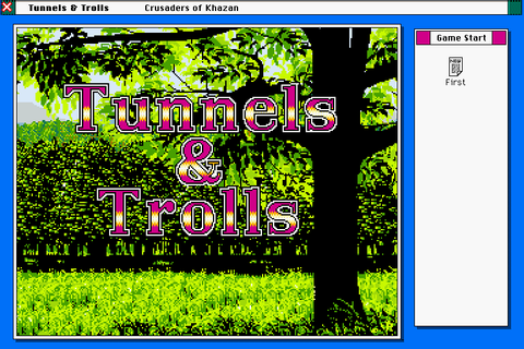 Tunnels & Trolls: Crusaders of Khazan (1990) X68000 game