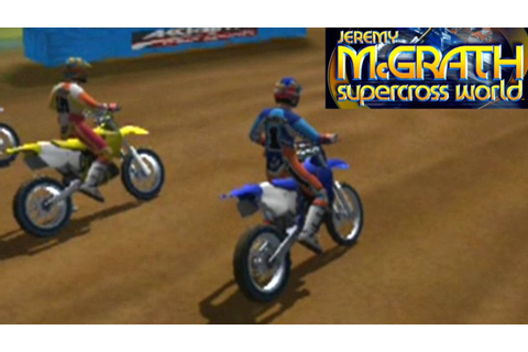 Jeremy McGrath Supercross World ... (PS2) - YouTube