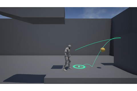 Projectile Path Tracer by Zack Maxwell in Blueprints - UE4 ...