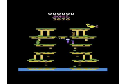 Roc 'n Rope for the Atari 2600 - YouTube