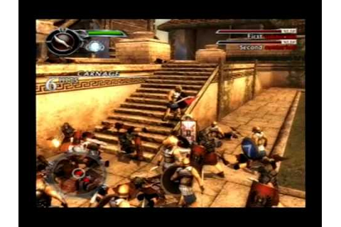 (Ps2) Spartan: Total Warrior gameplay - YouTube