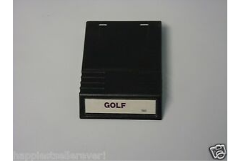 Golf 1980 White Variant INTV 3 III Intellivision Video ...