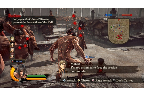 Free Download Attack on Titan Wings of Freedom CODEX ...