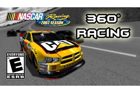 360 VR Racing Video - NASCAR Racing 2003 Season Simulator ...