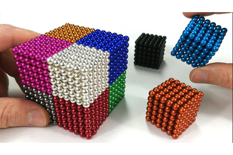 Playing with Magnetic Balls, Satisfaction 100% | Magnetic ...