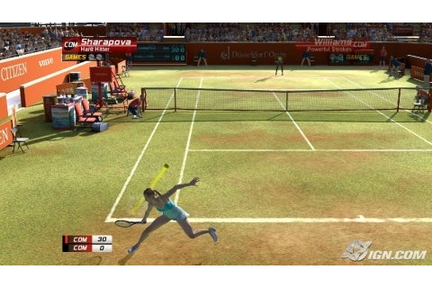 Virtua Tennis 3 Review - IGN