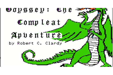 The CRPG Addict: Game 99: Odyssey: The Compleat Apventure ...