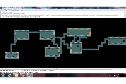 Nethack Episode 01 - Peadee Plays Nethack - Peadee Games ...