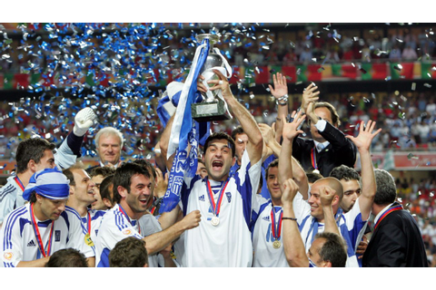 How 'boring' Greece stunned the world to win Euro 2004
