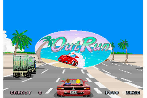 Out Run - Videogame by Sega