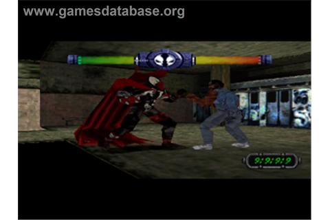 Spawn: The Eternal - Sony Playstation - Games Database