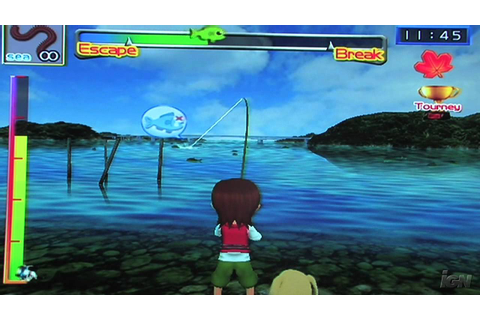 Fishing Master Nintendo Wii Gameplay - Caught A Fish ...
