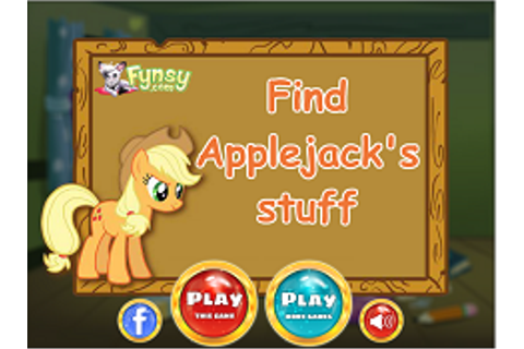 APPLEJACK GAMES - CUTE GAMES ONLINE - CUTE-GAMES.COM