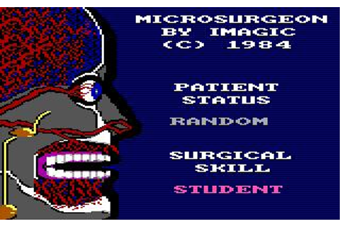 Microsurgeon Download (1984 Arcade action Game)