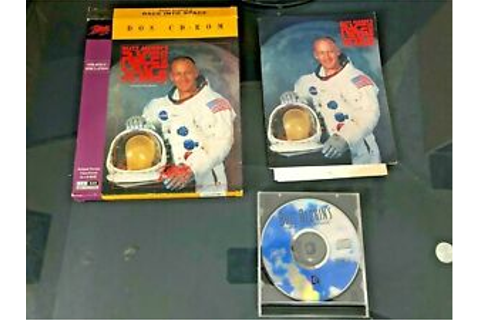 PC Buzz Aldrins Race Into Space BIG BOX CD ROM VIDEO GAME ...