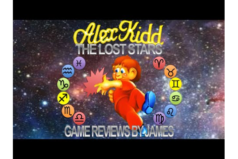 Alex Kidd: The Lost Stars - Game Reviews by James - YouTube