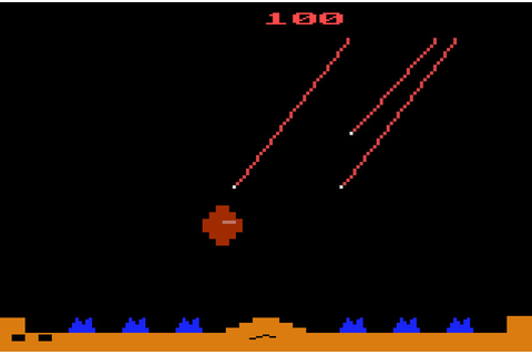 Game review: Atari Missile Command for #Atari 2600