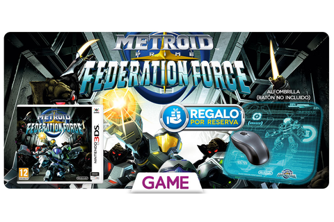 Metroid Prime Federation Force - Regalo de reserva en GAME ...