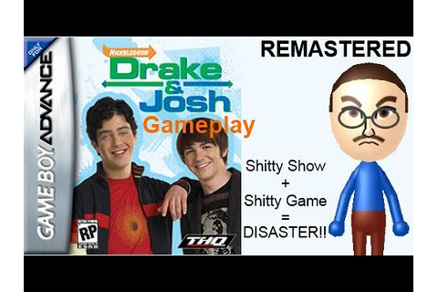 Drake and Josh (GBA) Gameplay REMASTERED - YouTube