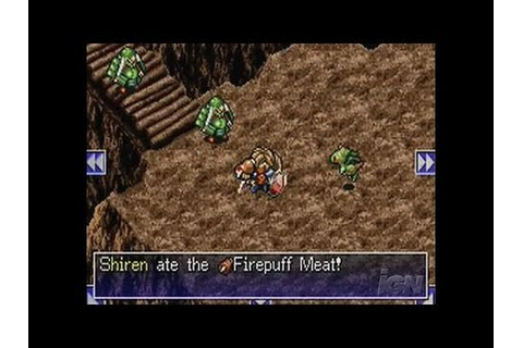 Mystery Dungeon: Shiren the Wanderer Nintendo DS Trailer ...