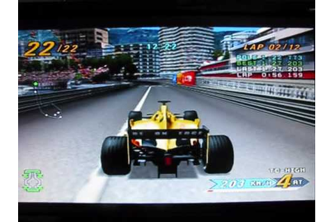 Grand Prix Challenge, PS2 Console - YouTube