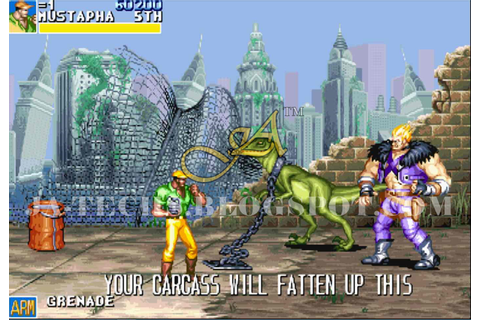 Cadillacs and Dinosaurs Game PC Version | J.A Technologies ...