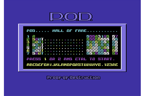 Download P.O.D.: Proof of Destruction - My Abandonware