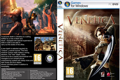Venetica Gold Edition PC Full Español (Mega) - Identi