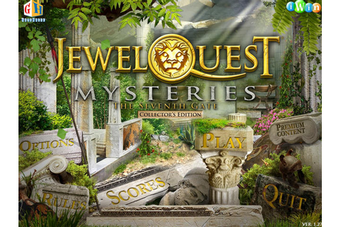 Jewel Quest Mysteries - The Seventh Gate Platinum Edition ...