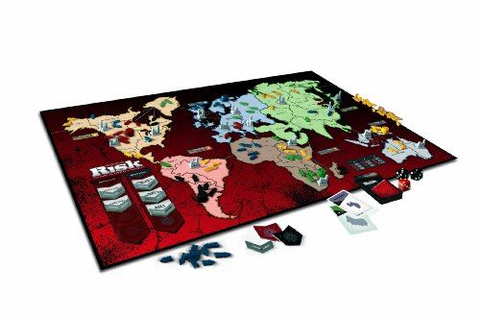 Risk: The Game Of Strategic Conquest Board Game Family Fun ...