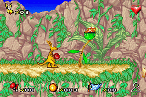Play Kao the Kangaroo Nintendo Game Boy Advance online ...