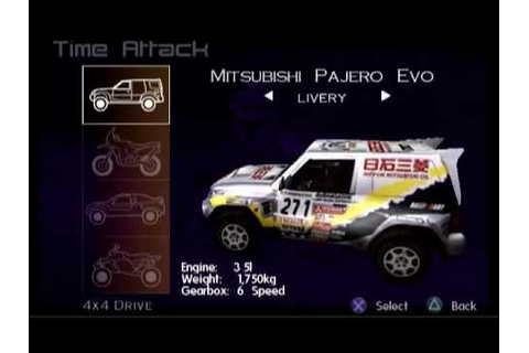 Paris-Dakar Rally (PS2 Gameplay) - YouTube