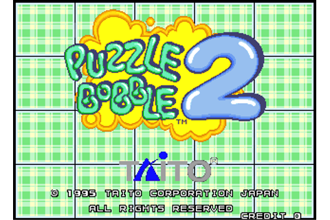 Puzzle Bobble 2 - Videogame by Taito