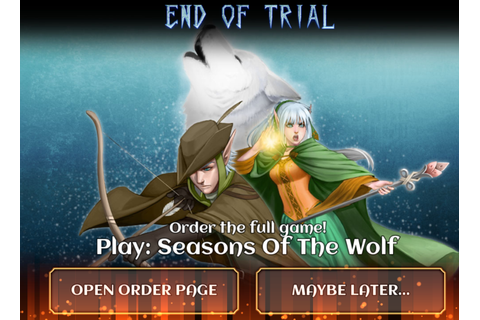 Tales of Aravorn: Seasons of the Wolf on Qwant Games