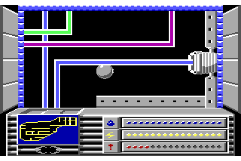 Rasterscan (1988) by Mastertronic MS-DOS game