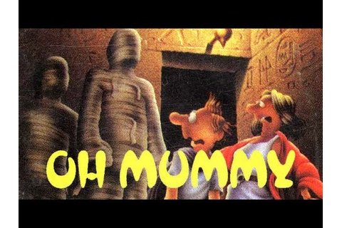 LGR - Oh Mummy - ZX Spectrum Game Review - YouTube