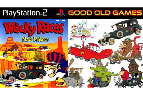 Wacky Races Mad Motors Gameplay Racing PS2 HD - YouTube