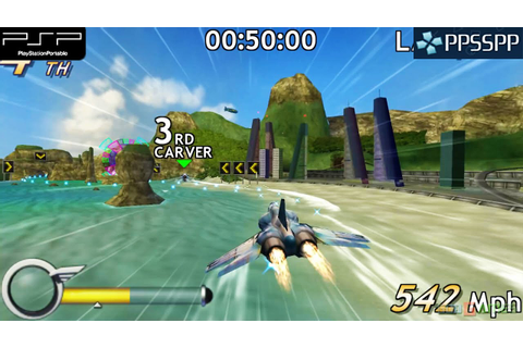 M.A.C.H. / Modified Air Combat Heroes - PSP Gameplay 1080p ...