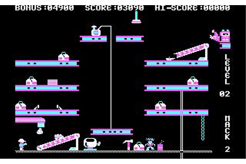 Hard Hat Mack Download (1984 Arcade action Game)