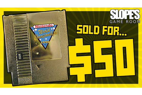 Nintendo World Championship Gold Cart Sold for $50! - SGR ...