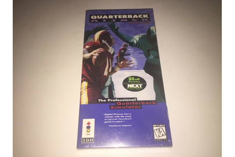 Quarterback Attack With Mike Ditka (3DO, 1996) for sale ...