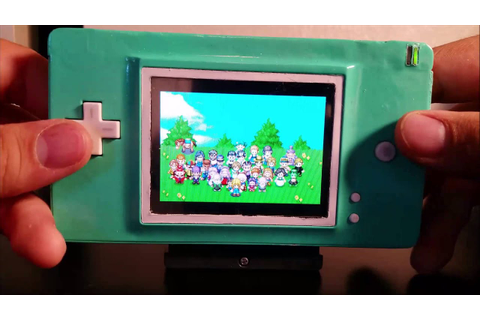 Gaming Mods - Nintendo Ds Lite to Gameboy Advance Mod ...