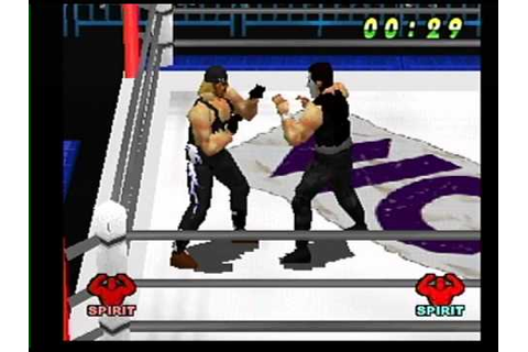 wcw vs the world roster and match hq ps1 - YouTube